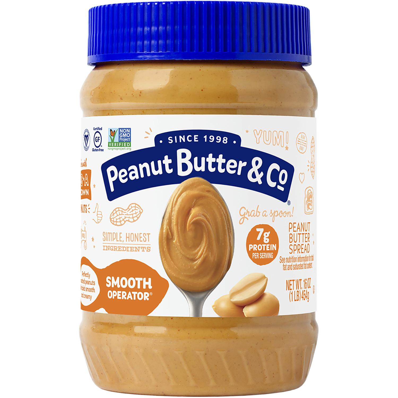 زبدة الفول السوداني ناعمة Peanut Butter Amp Co