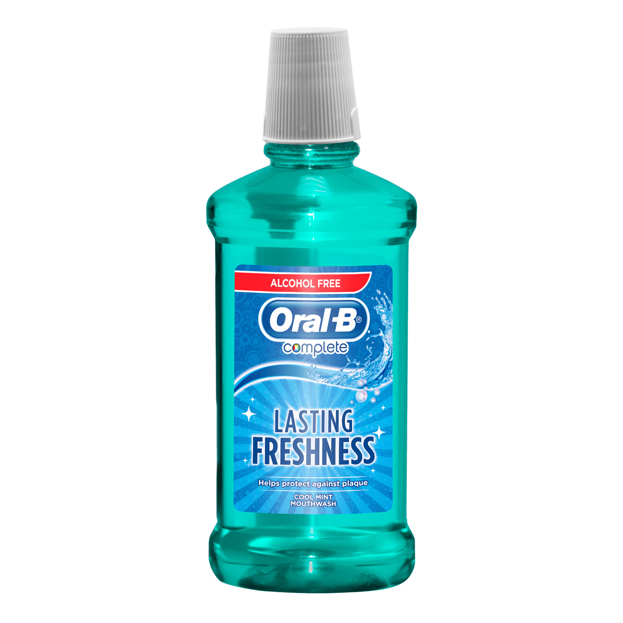 غسول الفم والأسنان للحماية الكاملة بالنعناع من أورال بي 500 مل