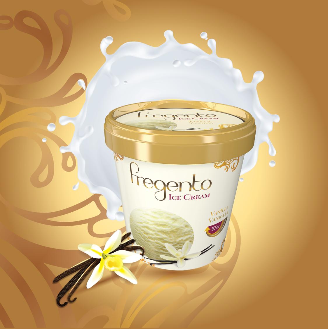 فرجينتو فانيلا 12حبة Frg Vanilla 12pc 125 Ml