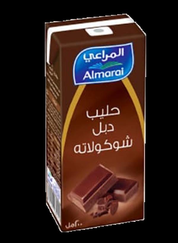 حلييب المراعي بالشوكولاته دبل شوكولاته طويل الأمد 250مل