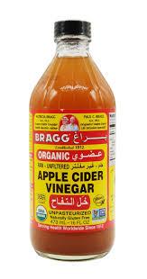 خل التفاح الغير مفلتر العضوي ٤٧٣ مل براغ Bragg الموقع الأخضر Green Spot
