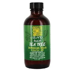زيت الخروع الأسود الجاميكي شجرة الشاي من ايلاند تويست - 118 مل