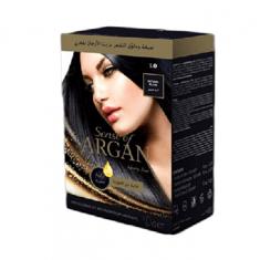 صبغة شعر من سينس أوف ارغان - أسود طبيعي - 75 مل