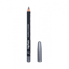 قلم محدد شفاه مقاوم للماء من توب فيس - 104 - فضي