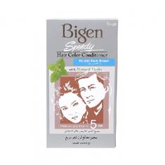صبغة سريعة ومنعمة للشعر مع الاعشاب الطبيعية من بيجين - رقم 883 بني غامق