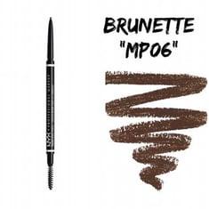 قلم حواجب مايكرو من إن واي إكس بروفيشنال ميك أب رقم 06