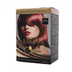 صبغة شعر من سينس أوف ارغان - أحمر بني فاتح مركز - 75 مل