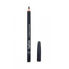 قلم محدد شفاه مقاوم للماء من توب فيس - 102 - اسود