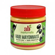 كريم المايونيز الأمريكي و زيت الزيتون+ بروتين البيض للشعر من ايه بي ناتشورالز-500مل