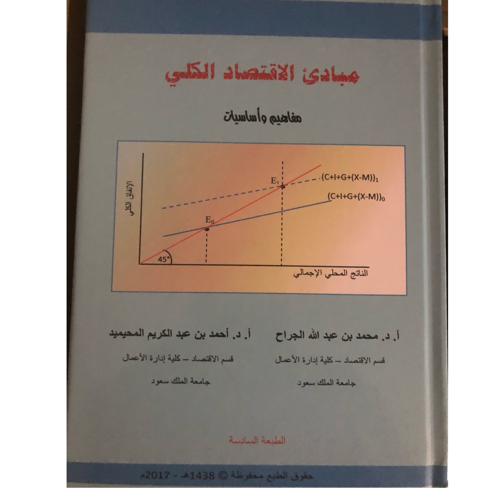 مبادئ الاقتصاد الكلي مفاهيم وأساسيات