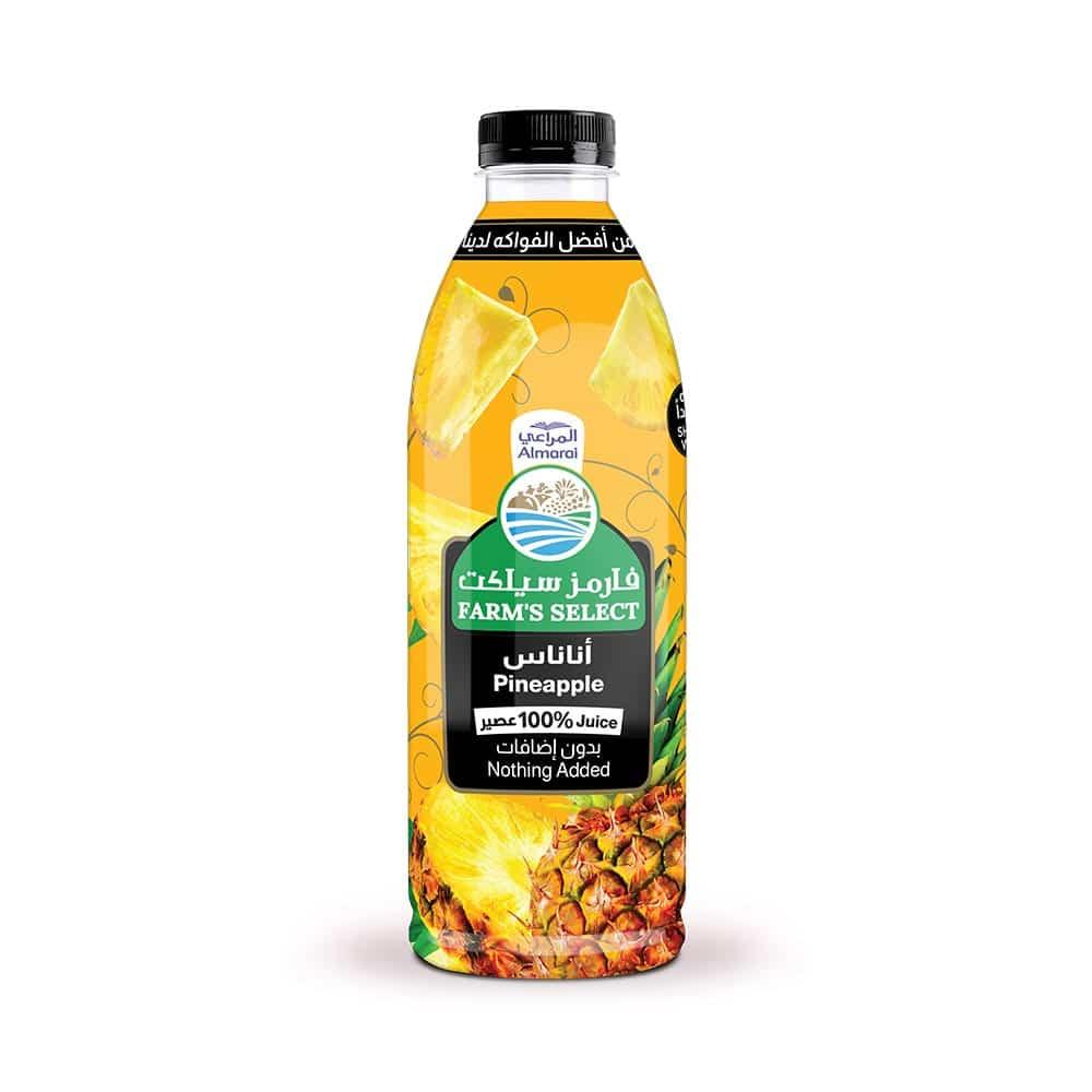 المراعي عصير سوبر اناناس 250 ملل