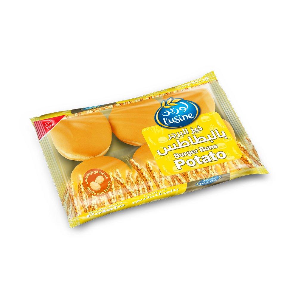 المراعى لوزين خبز البرجر بطاطس 400 جرام