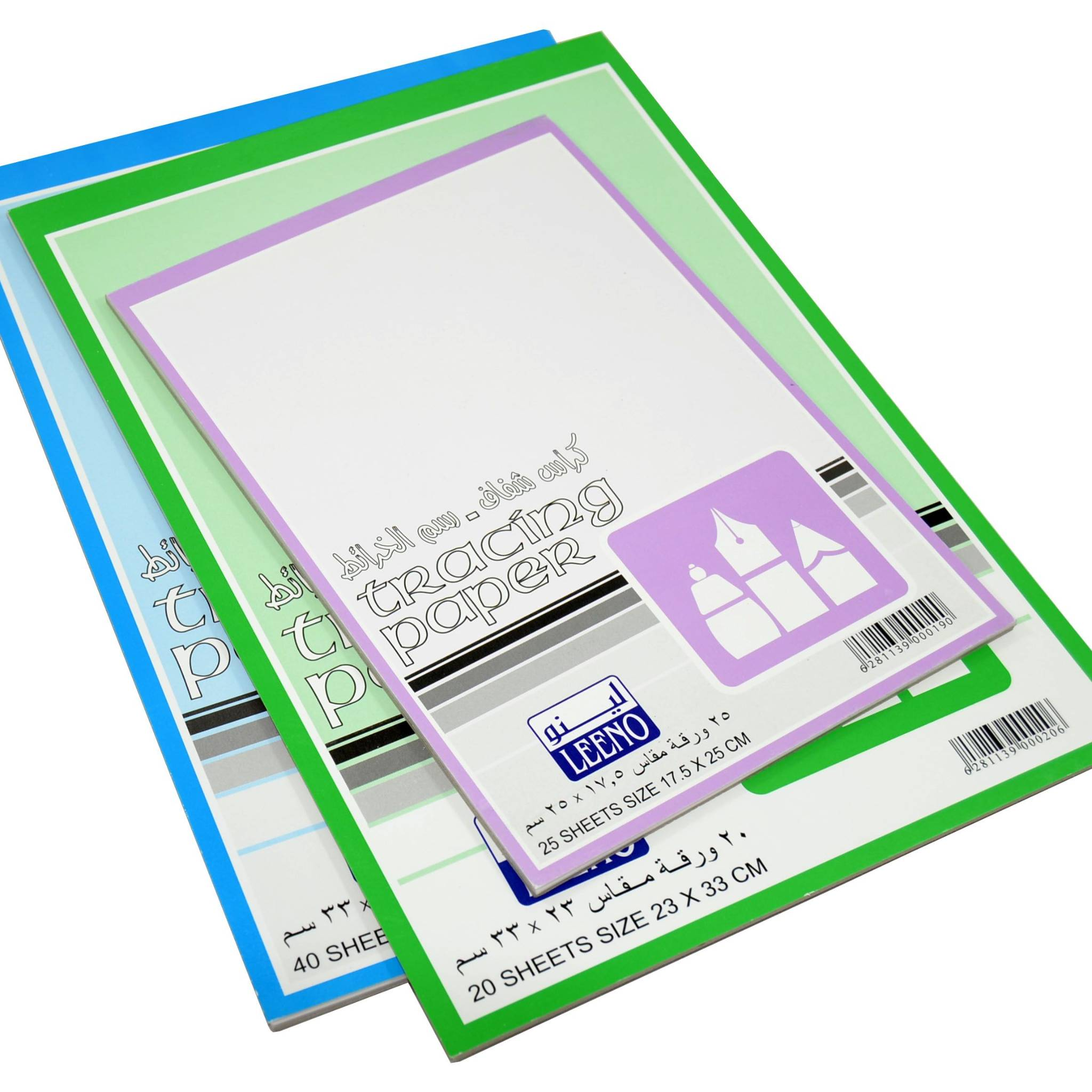 كراس ورق شفاف رسم خرائط