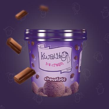 آيس كريم شوكولاتة 1 حبة Chocolate 1pc 500 Ml