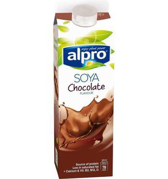 حليب صويا بنكهة الشوكولاتة ا ل البرو