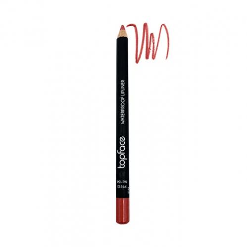 قلم محدد شفاه مقاوم للماء من توب فيس - 104