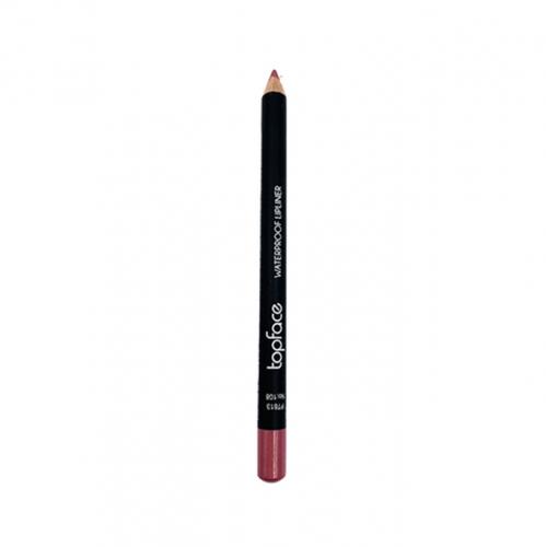 قلم محدد شفاه مقاوم للماء من توب فيس - 108