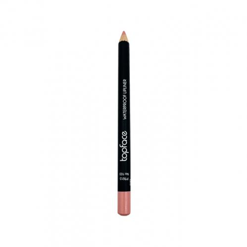 قلم محدد شفاه مقاوم للماء من توب فيس - 103