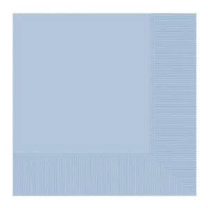 مناديل لون ازرق سماوي عدد 20 قطعة