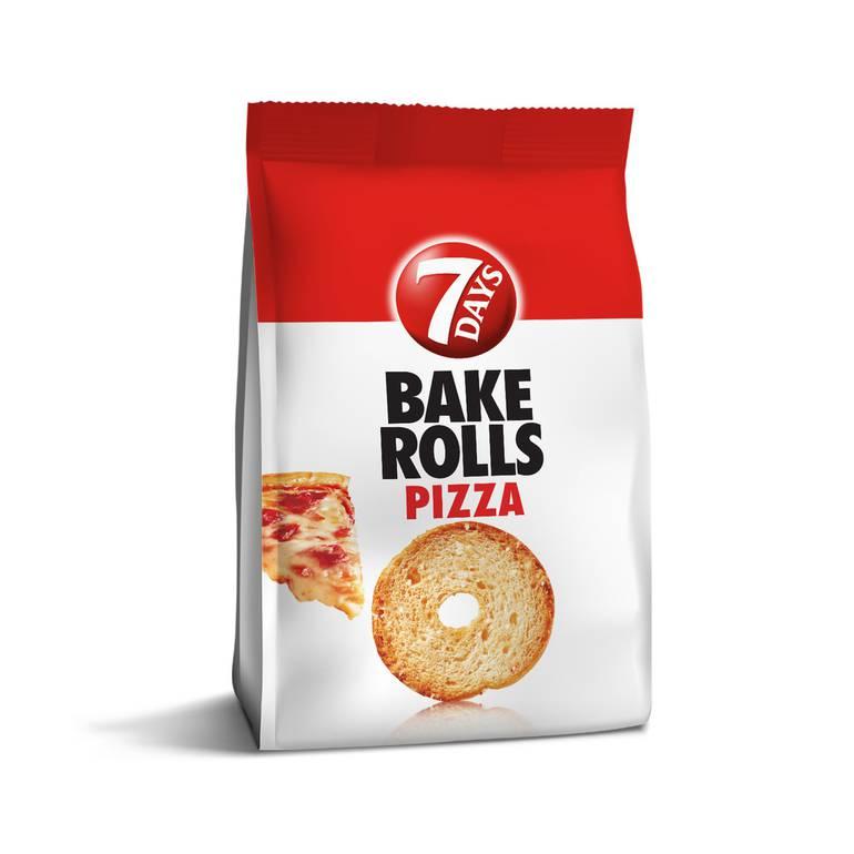 سفن دايز بيك رولز خبز محمص بيتزا 18 36جم